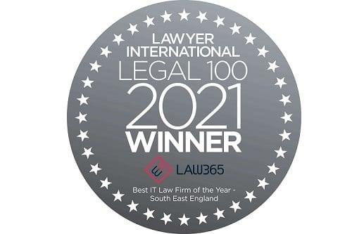 The Lawyer international Legal 100 2021 Winner