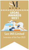 Innovator of the Year Award Law 365